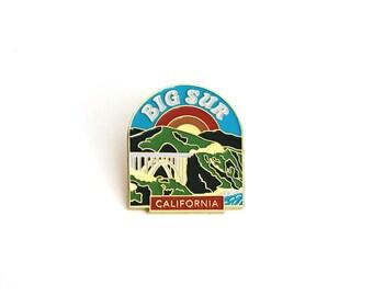 Big Sur Enamel Pin
