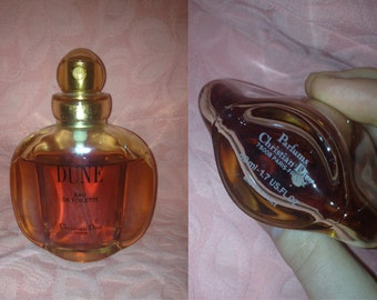1990s CHRISTIAN DIOR Dune Designer Rare Perfume 1.7 Fl Oz