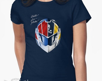 Robotic Air Mecha anime T-shirt inspired by Daft Punk