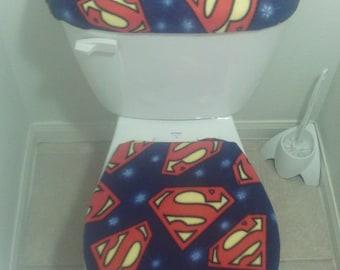 Superman Bathroom Etsy