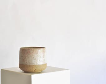 Minimal Speckle Modern Ceramic Planter