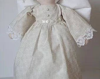 "RC606E – ""NOEL""  Angel Cloth Doll Sewing Pattern – PDF Download Doll Making Pattern"