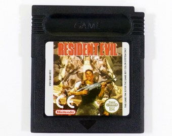 Resident Evil Game Boy Color Cartridge Unreleased Nintendo Customized Gameboy Cart GBC - Free Shipping!