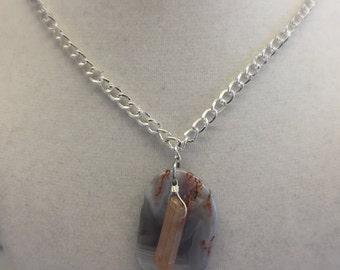 Ophelia - Jasper and Quartz Necklace