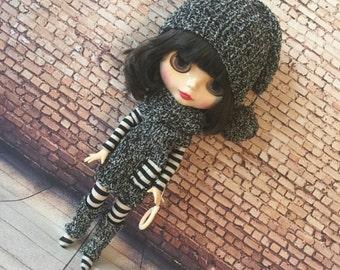 Blythe outfit, blythe fashion, doll clothes, bjd outfit, blythe fashion, blythe clothes, bjd fashion