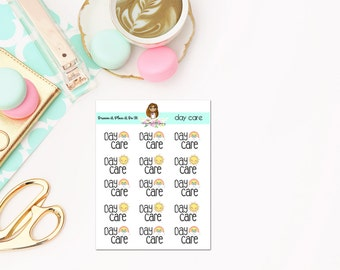 Day Care Planner Stickers