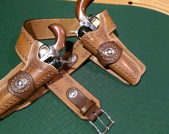 Custom Gun Belt and Holsters