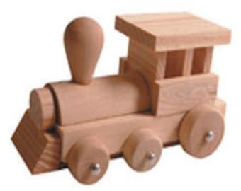 Train Wooden Building Kit, Train Craft Kit, Wood Craft, Train Construction Kit, Train Crafting Kit, Wooden Train Kit, Children's Craft Kit