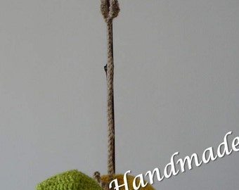 Baby Rattle, Crochet Rattle, Knitted Rattle, Amigurumi Fruits, Amigurumi Vegetables, Stuffed Fruits, Stuffed Vegetables, Baby Shower