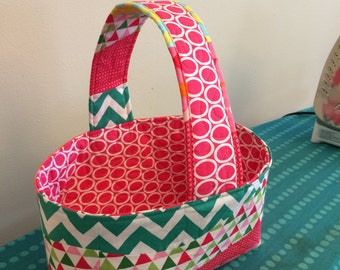 Custom Fabric Easter Basket