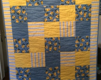 Custom Baby Quilt- Perfect Baby Shower Gift!