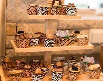 Cupcake Stands - Donut Stand - Cupcake Stand - Rustic Cupcake Stand - Wood Cupcake Stand - Dessert Stand - Mini Cupcake Stands