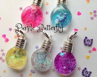 Purple Butterfly Snowglobe