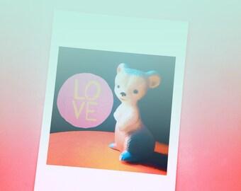 Postcard 'Love'