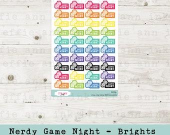 Game Night - Nerdy Version