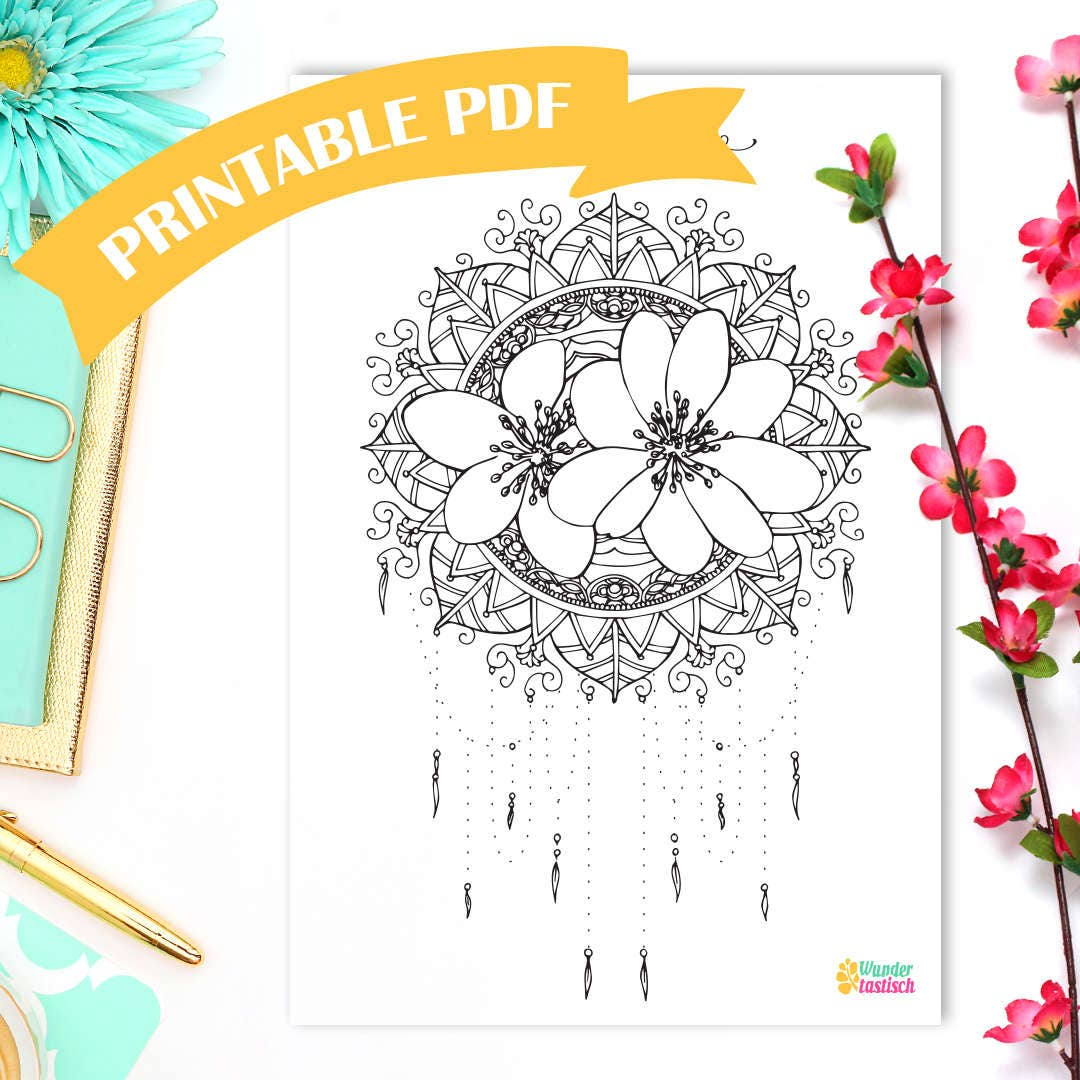 Printable Hello March Monthly