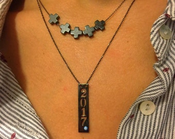 Cross Necklace Women, Cross Pendant, Gold 24k Cross Necklace, Cross Jewelry, Women's Jewelry, Made in Greece.