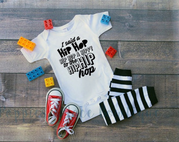 Kids' Funny Easter Shirt, I Said A Hip Hop, Baby's First Easter, Cute Kids' Clothing, Baby Shower Gift