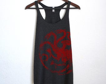 Mother of Dragons Targaryen Tank Top - Game of Thrones Shirt Khaleesi