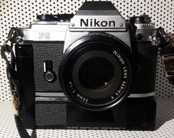 Nikon FG SLR with 50mm Series E Nikon Lens