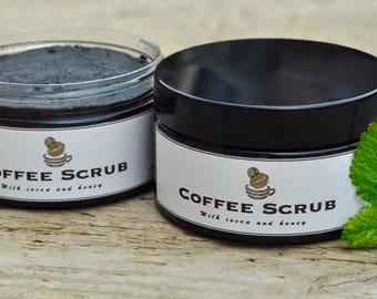 Organic Coffee Scrub (3 fragrances)
