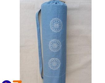 Hemp Yoga Mat Bag Etsy