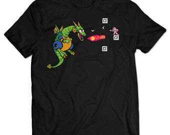 Mega Man 2 Mecha Dragon T-shirt
