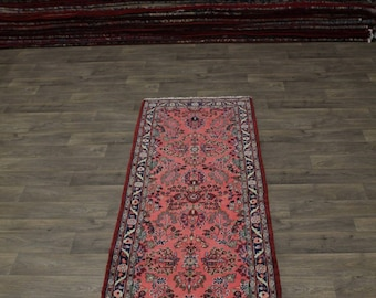 Gorgeous Handmade Hallway Lilian Hamedan Persian Rug Oriental Area Carpet 3X9