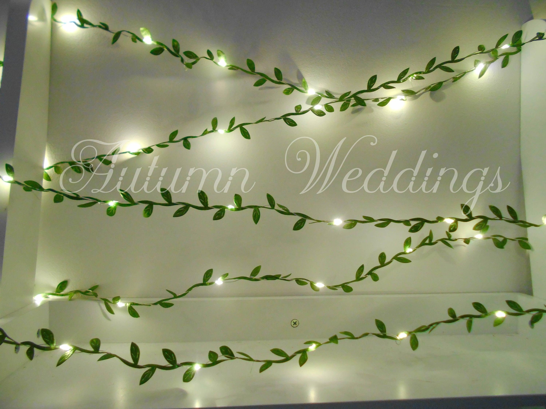 Green Leaves Fairy Lights 2 m String Lights Garland