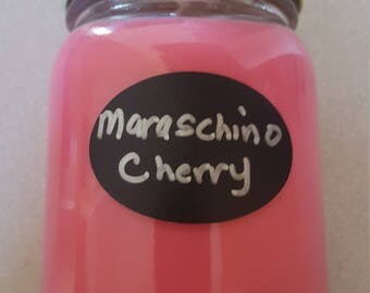 16oz Maraschino cherry scented candle