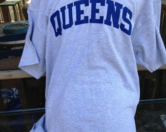 QUEENS T-SHIRT - More hip than Brooklyn.  (For, as you know, Queens is the New Brooklyn.)