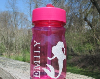 Personalized Water Bottle, Princess Bottle, BPA Free Water Bottle, Custom Water Bottle, boy characters also available, Disney