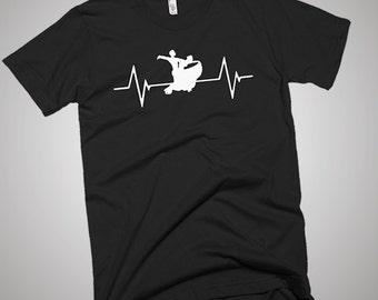 Ballroom Dancing Heartbeat T-Shirt