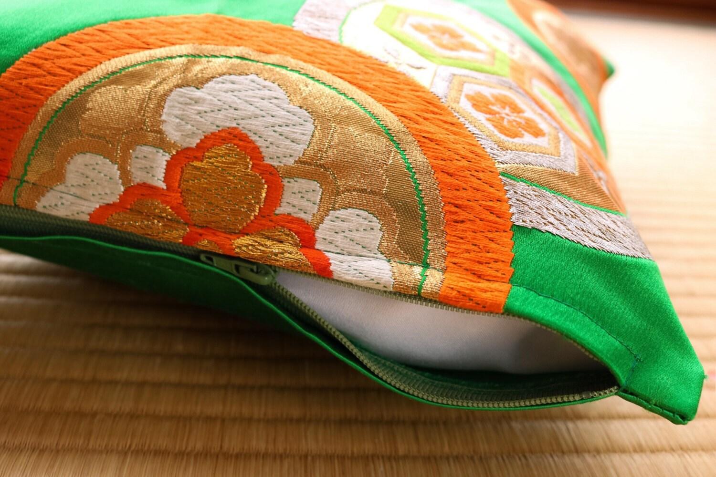 Oriental Design Throw Pillows : Small Japanese Cushion Covers Japanese Pillows Throw Pillows Oriental Pillows Japanese ...