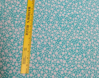 Michael Miller Play Dot-Aqua Fabric
