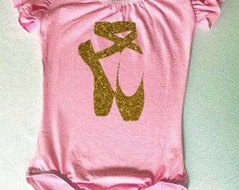 Girls leotard toddler leotard child leotard dance leotard birthday gift for girls custom leotard childrens clothing ballerina 12m 2T 4T 6 8