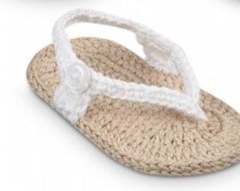 baby shoe baby flip flop baby sandals shower gift baby gift crochet sandals baby boy shoe baby girl shoe infant shoe infant boy infant girl