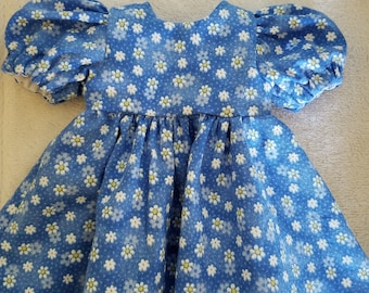 Dress and Pantaloons for 11 inch  12 inch and 13 inch baby doll/ Corolle baby doll