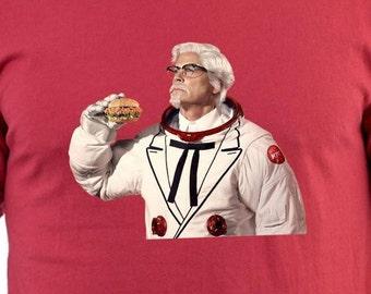 Colonel Sanders Rob Lowe KFC T-shirt