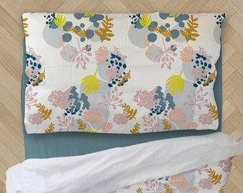 Floral Comforter - Kids Comforter - Toddler Bedding - Twin Comforter - XL Comforter - Boys Comforter - Kids Bedding