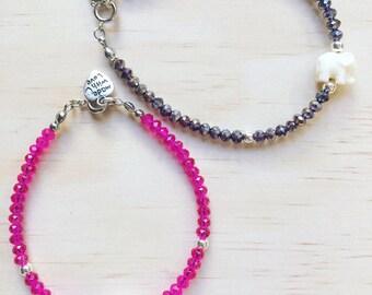 Elsie Crystal Bracelet