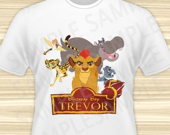 Lion Guard Iron On Transfer. Lion Guard Birthday Iron On Transfer. Lion Guard Birthday Shirt. Lion Guard Party. Kion Iron On. DIGITAL FILE