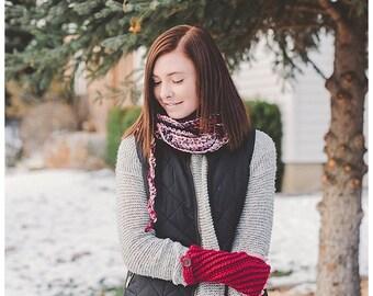 Molly Fingerless Gloves, Fingerless Gloves, Crochet Gloves, Winter Gloves