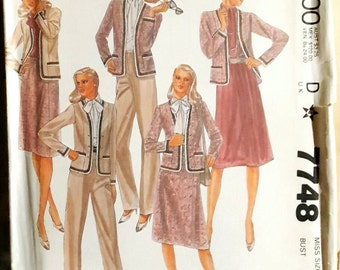1981 McCall's 7748 Misses Wardrobe Separates Size 16 UNCUT FF Sewing Pattern ReTrO!