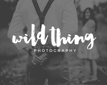 Logo Design, Photography Logo and Watermark, Photography Watermark, Premade Logo, Watermark Design