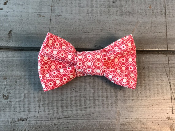 Modern DOG BOW TIE, Made to Order, You Choose Color & Style!!  Pet/Puppy Bow Tie