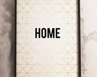 Home Print  (16x20, 8x10 & 5x7) Instant Download
