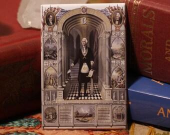 George Washington freemason magnet