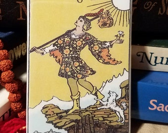 The Fool , Tarot magnet
