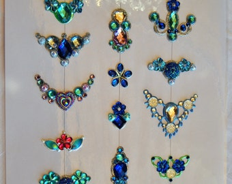 Bling for face paint, festivals and any sparkly occation.